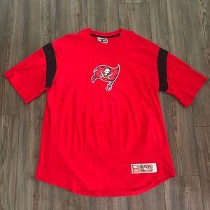 Red Tampa Bay Buccaneers Shirt